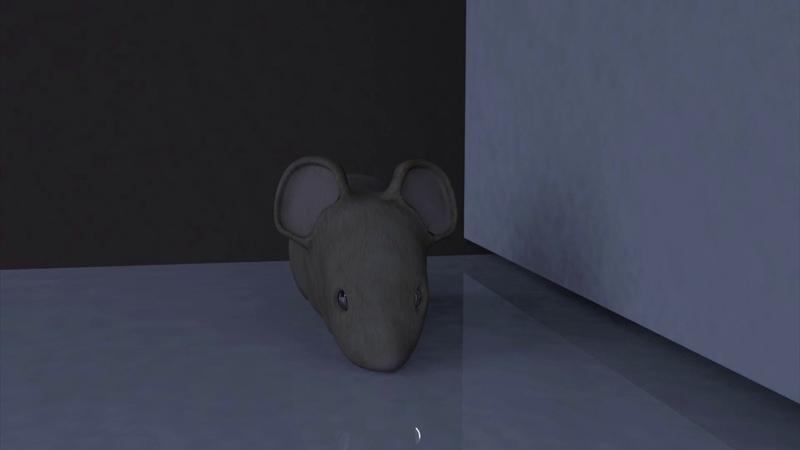 Mouse. Öğrenci Çalışması, Rigging, Modellemee Autodesk 3d Maya animasyon