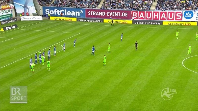 Ганза Росток 2:2 Мюнхен 1860 (15.09.2018)