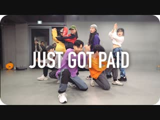 1Million dance studio Just Got Paid - Sigala, Ella Eyre & Meghan Trainor (ft. French Montana) / Jinwoo Yoon Choreography