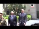 Уильям встретился с главой Палестинской автономии Махмудом Аббасом, 27.06.2018