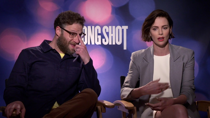 Long Shot Seth Rogen and Charlize Theron Generic Interview