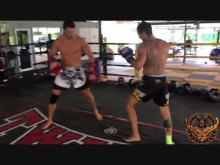 видео урок по Тайскому Боксу