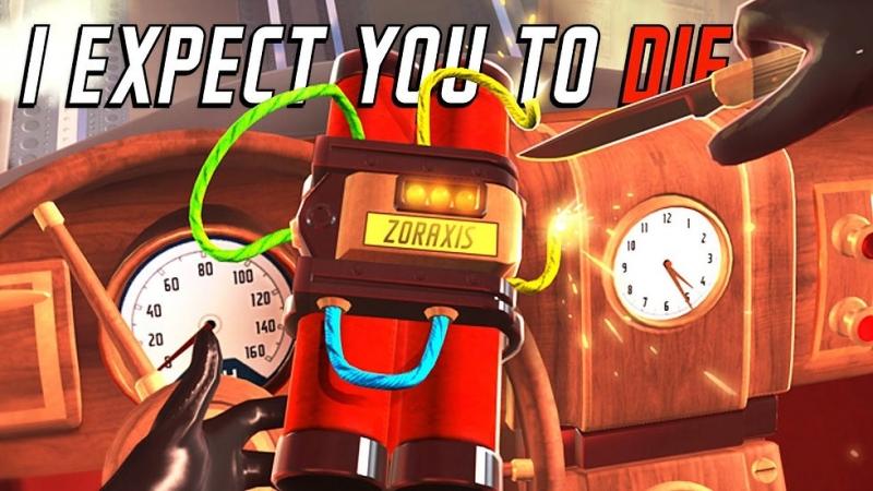PSVR I Expect You To Die VR GAMECLUB Хабаровск