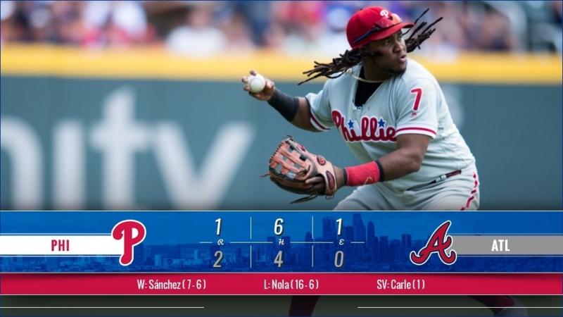 Game 155: ATL_2_PHI_1 © MLB.com