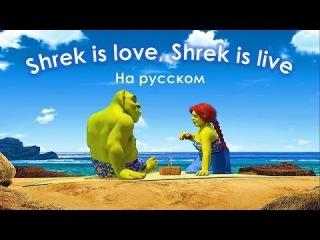 Shrek is love, shrek is live (на русском).