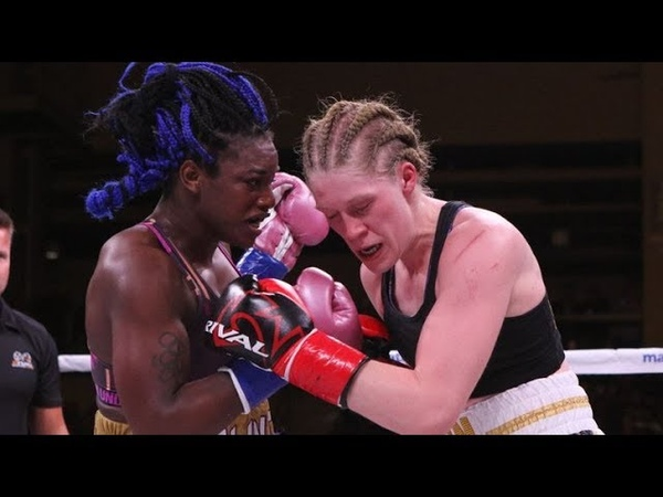 Claressa Shields vs Hannah Rankin Full Fight (18/11/2018)