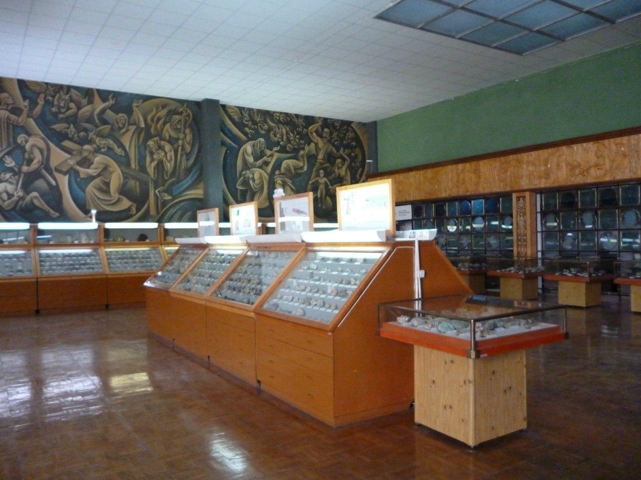 Взале естественнонаучного музея