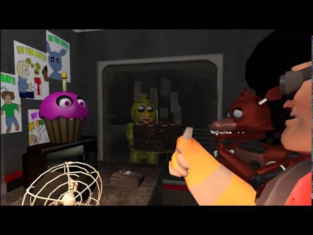 как подружится с аниматрониками five nigts at Freddy`s