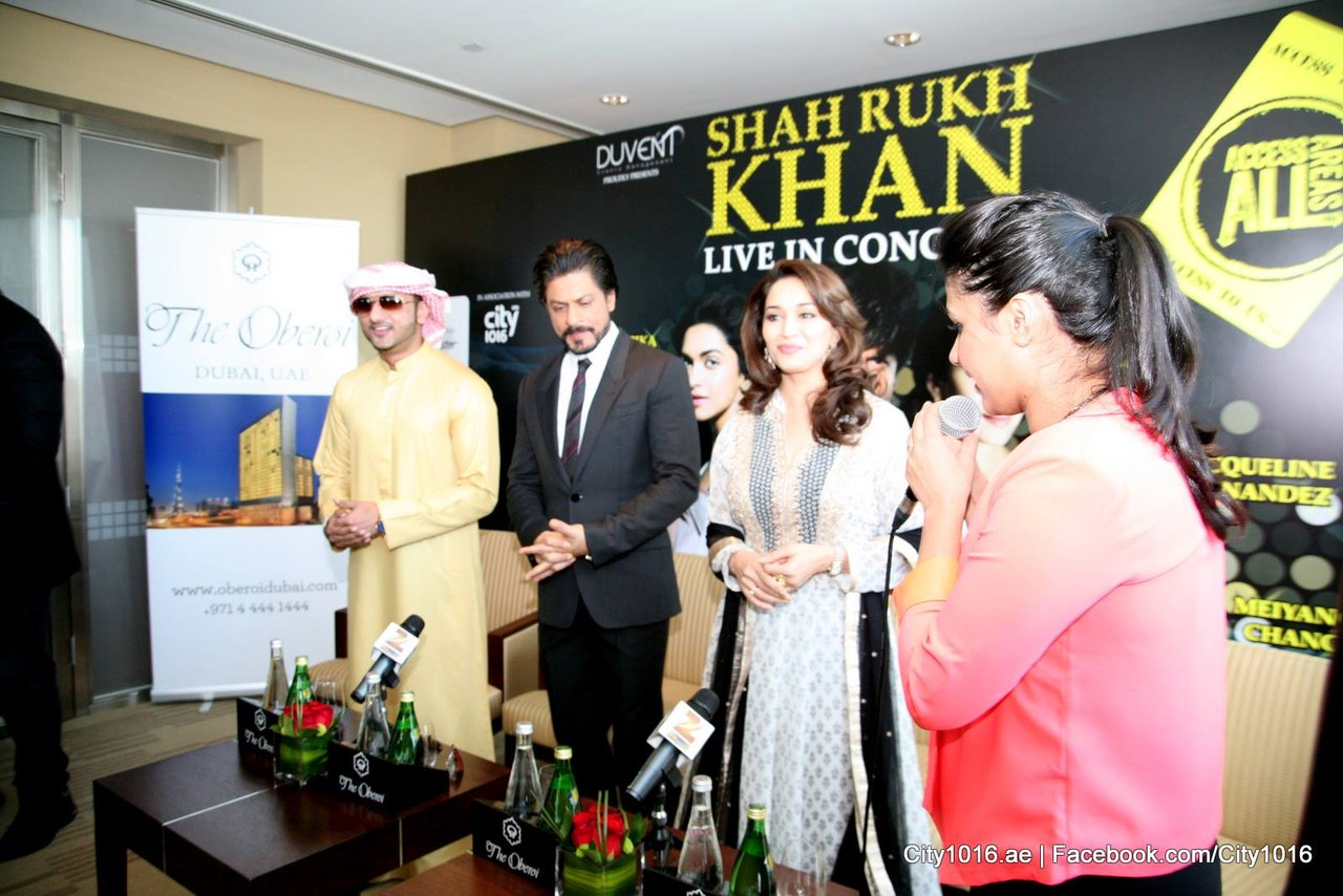 4pUZpYVn1Jw - Shah Rukh Khan and Madhuri congratulate Dubai on Expo 2020 win