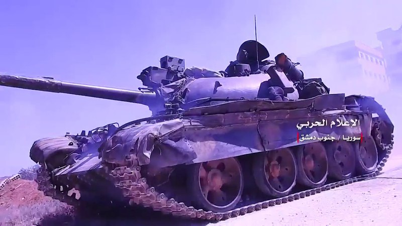 SYRIA:SCENES OF THE S.A.A'S ADVANCE SOUTH OF DAMASCUS TARGETING THE HQs AND WEAPONS OF ISIS. Опубликовано: 25 апр. 2018 г.