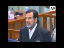 Saddam Hussein found guilty and sentenced to death by hanging 2006