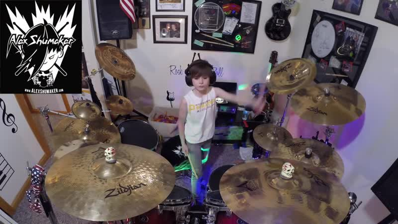9 year old Alex Shumaker Sweet Child by GnR
