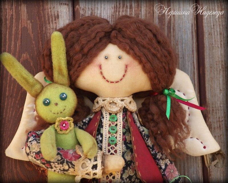 тряпичные куклы своими руками