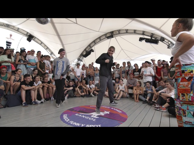 Alexandra Agata VS Kuznecov Юльча / LOCKING / Yalta Summer Jam 2017