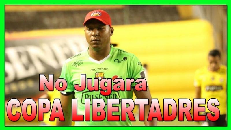 ❌ Maximo Banguera【NO PODRA JUGAR COPA LIBERTADORES 2019】▷ Suspendido X Conmebol