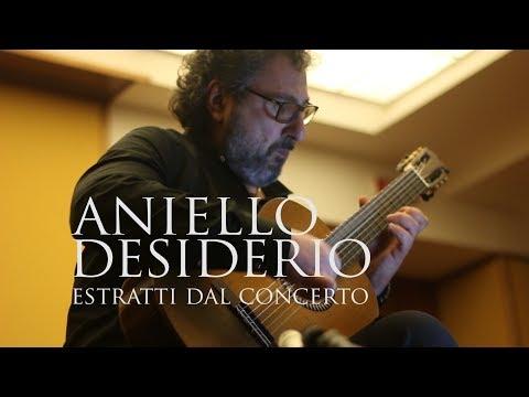 ANIELLO DESIDERIO - Estratti dal concerto di Roma Expo Guitars 2018