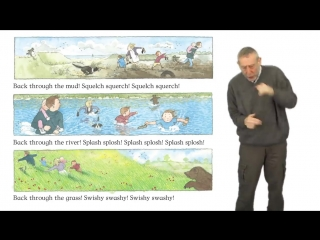 Michael Rosen performs Were Going on a Bear Hunt (1)