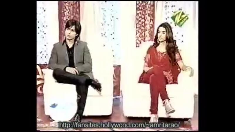 Amrita and Shahid on Shubh Vivah Part 1 5