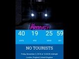 40 DAYS TO GO! Will this be the next single httpsyoutu.beBOfEJAeTxYk #notourists #theprodigy