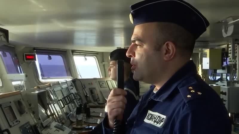 Учебная торпедная дуэль кораблей Балтфлота