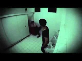 Кошмар в туалете! Японский розыгрыш!  Жуть!