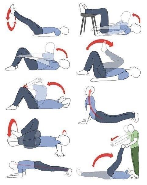 Упражнения для нижнего пресса в домашних условиях  217