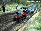 Китайский квадроцикл cf moto 800 и грязь, сломали передний редуктор.
