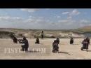 СИРИЯ Чеченский амир Ибрахим Шишани обучает Моджахедов ИГ Исламское Государства
