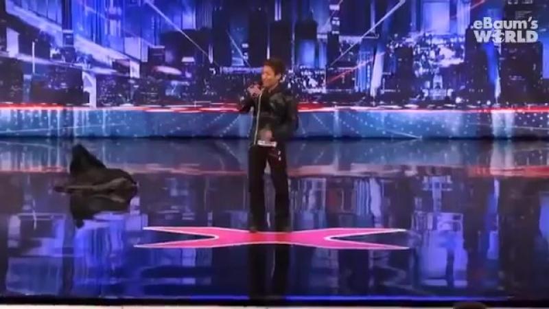 Нереальный танец на американском шоу талантов