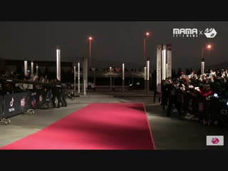 Bts red carpet at mama 2018 hong kong