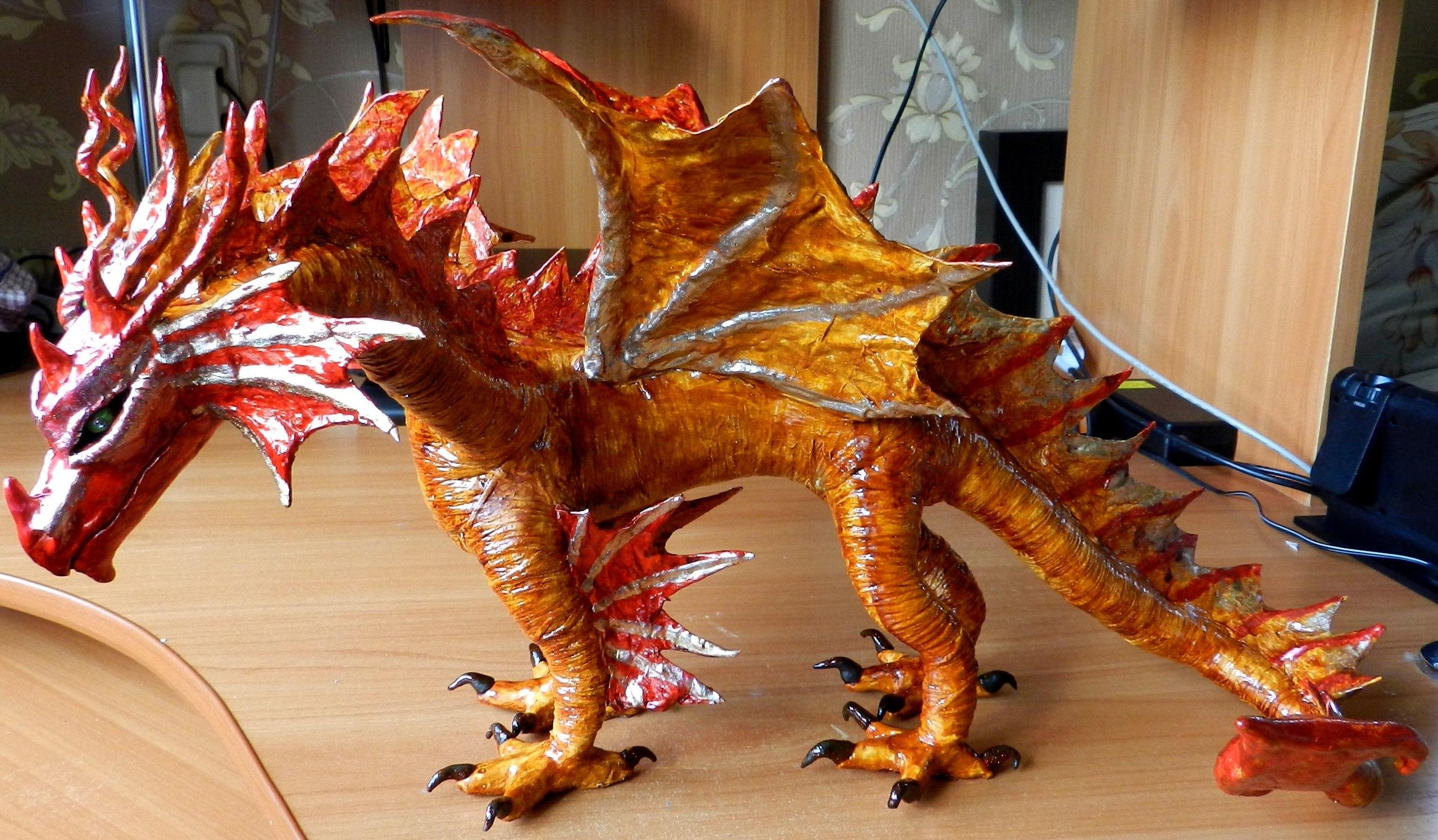 Самоделка дракон своими руками