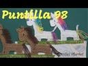 Puntilla 98 | Unicornios o Caballos | Puntillas Maribel