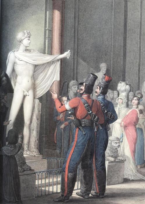 Варвары-гомофобы в Лувре
