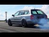 Audi S4 B5 Bi-Turbo 1200 HP Extreme Acceleration &amp Sound