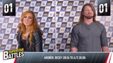 WWE Superstar Battles w Becky Lynch &amp AJ Styles - Smyths Toys