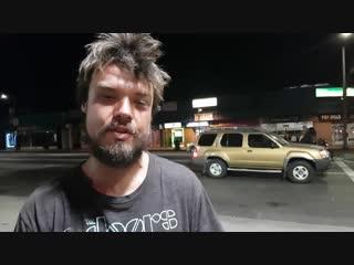 Бомж с Украины 13 лет живет в Лос Анджелесе, США