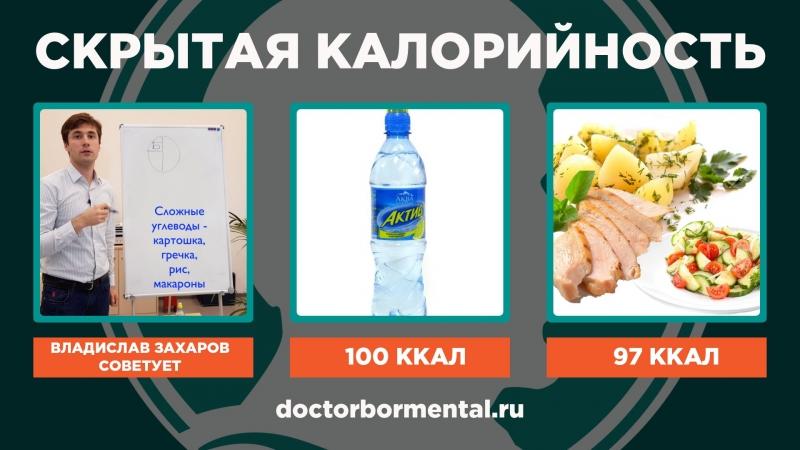 Скрытая калорийность
