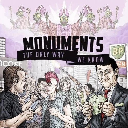 Monuments - The only way we know [EP] (2012)