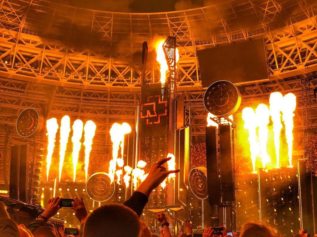 Фото и видео с концерта Rammstein в Москве в Лужниках (ОНЛАЙН, обновляется!)