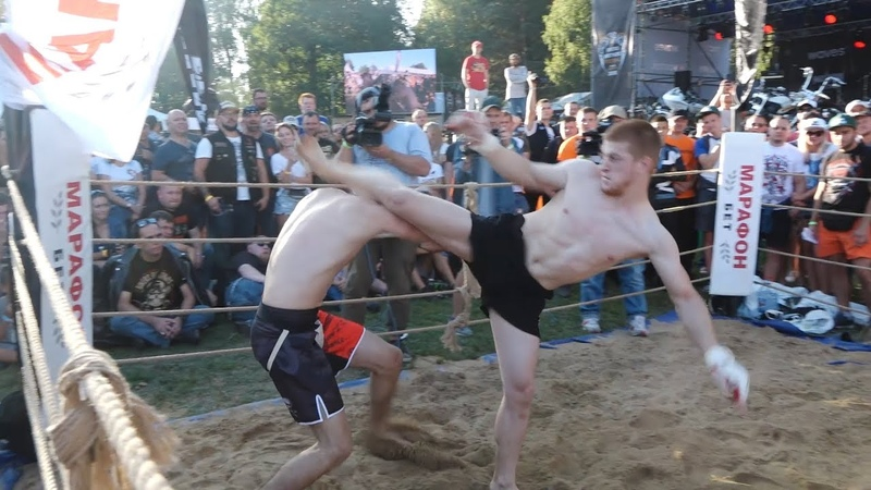 УШУ МАСТЕР против Троих Ударника, Бойца ВДВ и Огромного мужика