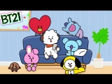 Trained long and hard for this day💪 #BT21