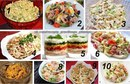 10 вкуснейших и легких салатов к новогоднему столу
