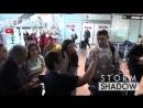 Сара Сампайо покидает аэропорт «NCE», Ницца (10/03/18)