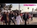 Сара Сампайо, Хейли Болдуин и другие модели на фотосессии для «Tommy Hilfiger», пляж Венис 08/02/17