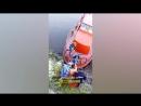 Прыжок с моста в воду