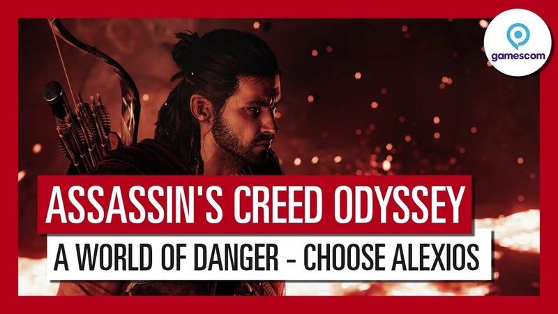Assassin's Creed Odyssey: Gamescom 2018 A World of Danger Gameplay Trailer - Alexios