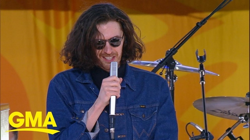 Hozier performs his smash hit Take Me to Church live on GMA
