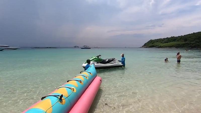 Pattaya Koh larn Nual Beach Thailand