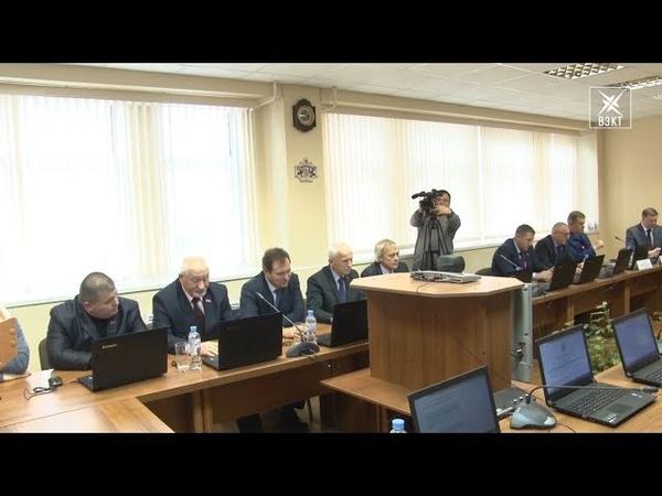 Состоялся внеочередной городской совет депутатов