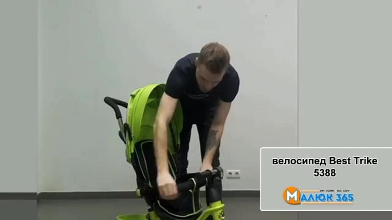 Обзор трехколесного велосипеда Best Trike 5388